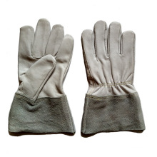 Goat Grain Leather Brazing and TIG Welding Gloves for Workers